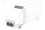 Кондиционер с передним  конденсором